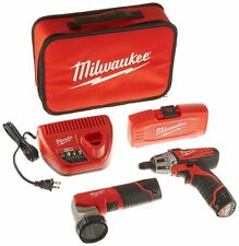 Milwaukee Electric Tools 2482-22 Milwaukee M12 Screwdriver W/ Led Worklight,