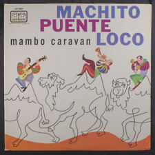 TITO PUENTE: Mambo Caravan LP (Mono, corner bend, small light stain on cover, r