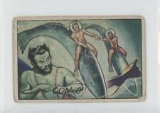 1951 Bowman Jets Rockets Spacemen #56 Underwater Hunting Non-Sports Card 0s4