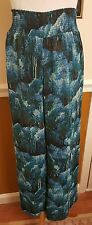 NWT WOMENS SKYE'S THE LIMIT LINED MULTICOLOR PALAZZO PANTS SIZE M (RETAIL $64)
