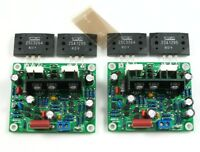 MX50 SE LAPT 2SA1295 2SC3264 Power amplifier board kit Dual Channel power amp