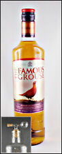Famous Grouse Finest Scotch Blended Whisky Whiskey + 1 Glaskugelportionierer