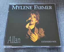 CD MAXI ALLAN SINGLE REMIXES LIVE MYLENE FARMER TRES BON ETAT