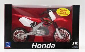 New Ray Toys Honda CR 250R Die-Cast 1:12 Motorcycle Moto Bike 53757