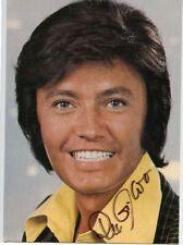 822 Autogrammkarte Rex Gildo TV Fernsehstar