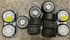 lot pneus 1/5 PMT slick 12 roues fg, harm,genius,rs5