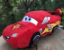 "13"" Lightning McQueen Plush Red Car Disney Store Cars Soft Toy Exclusive Plush"