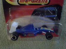 """MAJORETTE #213 FORMULA 1 F1 INDY RACER MET.BLUE """"FAT No.19"""" RACING CAR / MINT"""
