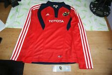 Women's Rugby Jersey  - Official Adidas Munster Rugby top - BNWT - Red Clima365
