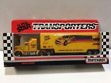 1990 Ernie Irvan #4 Kodak NASCAR Matchbox Transporters Morgan McClure Mtrsports