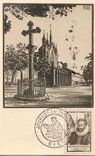 CP JOURNEE DU TIMBRE 1946 FOUQUET DE LA VARANE