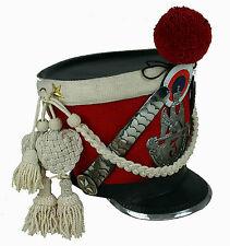 Tschako Prim Shako Francia Napoleón Waterloo LARP guardia SCA l99
