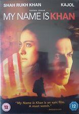MY NAME IS KHAN - BOLLYWOOD DVD - Shahrukh Khan, Kajol.