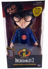 Disney Pixar Incredibles 2 Interactive Edna with Voice Recognition Talking Doll