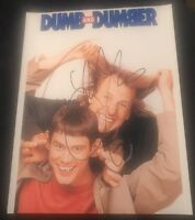 JEFF DANIELS SIGNED 8X10 PHOTO DUMB AND DUMBER JIM CARREY B W/COA+PROOF RARE WOW