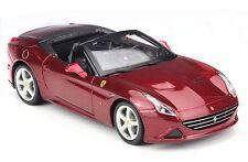 Bburago 1:24 Ferrari California T Open Top Red Diecast Model Racing Car Vehicle