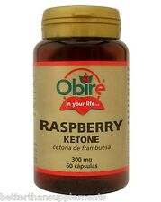 Raspberry Ketone 300mg Obire 60caps. lose weight - fat burner - free shipping !