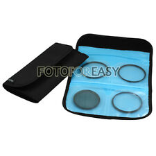 5 in1 58mm (CPL+UV+ND8) Lens filter+ White Balance+ 4-Slot Wallet Case Pouch Kit