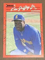 1990 Donruss Ken Griffey Jr Seattle Mariners #365 Baseball Card. Minty.