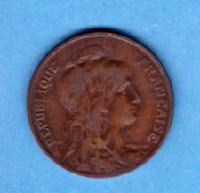 (BR.16) 10 CENTIMES DANIEL DUPUIS 1905 (TB+) RARE