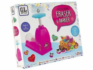 Grafix Push & Create Eraser Maker - Stationary - Creative - Children's - New
