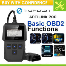 OBD2 OBD Code Reader Auto Car EOBD Scanner Diagnostic Tool Engine Check Topdon