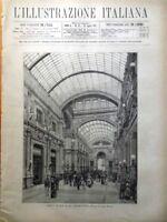 L'illustrazione Italiana 29 Luglio 1883 Napoli Fiesole Lago Como Ospizio Savoia