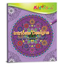 QuackDuck Malbuch Intricate Designs - Detaillierte Designs - Malen und entspa...