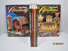 Country Woman Christmas Books, 1997, 98, 99, 2000, 02, 03 by Kathleen Anderson