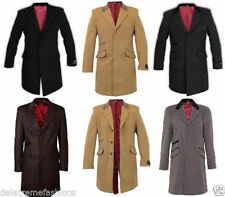 Men's Other Button Wool Hip Length Coats & Jackets