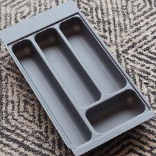 Grey Textured Cutlery Tray for 300mm Drawer | Blum Metabox | Kitchen Storage