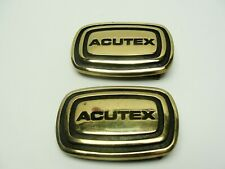 Buckle 585 & 603 of 1001 Made. (2) Solid Brass 1979 Anniversary Acutex Belt
