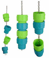 Parrot Toy Natures Instinct Foraging Turn & Learn Logs Feeder for Treats