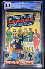 Justice League of America #8 CGC 3.5  12/61-1/62 2109846008 - JLA For Sale!