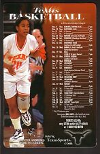 Texas Longhorns--1998-99 Basketball Magnet Schedule