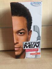 Just for Men A60 Jet Black Autostop DISCREET PACKAGING Hair Colour
