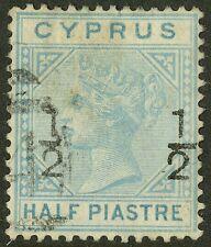 Cyprus  1882  Scott # 16  USED