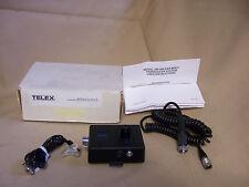 NEW TELEX EM200 EAR-MIKE IN-EAR MIC TRANSDUCER SYSTEM SET AVIATION 2 WAY RADIO
