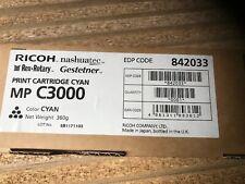 Genuine Ricoh 842033 MP C3000 Cyan Toner Cartridge (VAT INCL)