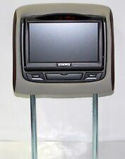 NEW 2014 GMC Terrain Dual DVD Headrest Video Players Monitors w/ Stitching Match