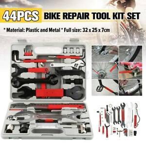 44PCS Mountain Bike Bicycle Cycling Chain Maintenance Wrench Repair Tools Kits
