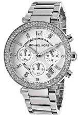 Michael Kors Silver Parker MK5353 Ladies Chronograph Watch