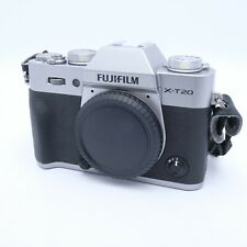 Fujifilm X-T20 24.3MP Mirrorless Digital Camera - Silver (Body Only)