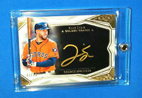George Springer SP AUTO 2019 Topps Five Star Golden Graphs /25  w/ Magnetic Case