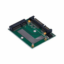 "mSATA SSD To 2.5"" SATA 6.0 Gps Adapter Converter Card IDE HDD For Laptop"
