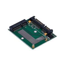 """mSATA da SSD a 2.5"""" 6.0 Gps Adattatore Convertitore Scheda IDE HDD Per Laptop"""