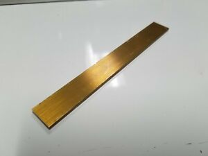 Solid BRASS SQUARE BAR Rod Plate Sheet 7 Popular Lengths 13 Sizes Available