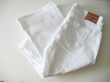 True Religion Womens Tony Slim Boot Cut Jeans Optic White Sz 32 - NWT