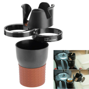 4 in 1 Multifunction Cup Holder Car Drink Coffee Bottle Stowing Case Rotatable