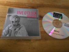 CD Indie Five O 'Clock Heroes-Who (1) canzone PROMO Glaze Rec/Agyness Deyn